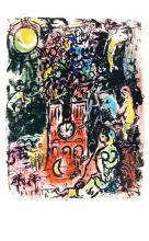 1963 Chagall L'arbre de Jesse Mourlot Poster