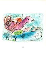 1963 Chagall La Baie Mourlot Poster