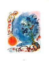 1963 Chagall Le Paysan Mourlot Poster