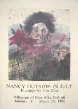 1984 Dine Nancy Outside in July Poster