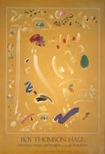 1982 Fournier Overture, Toronto Poster
