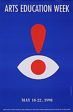 1998 Glaser Arts Education Week Poster