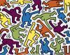 1983 Haring Untitled (1983) Poster