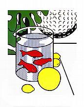 Lichtenstein Still Life with Goldfish Bowl Poster