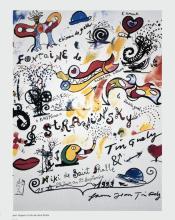 1992 Tinguely & de Saint Phalle La Fontaine Stravinksy Poster