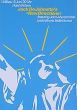 1979 Troxler Jack DeJohnette's New Directions Poster
