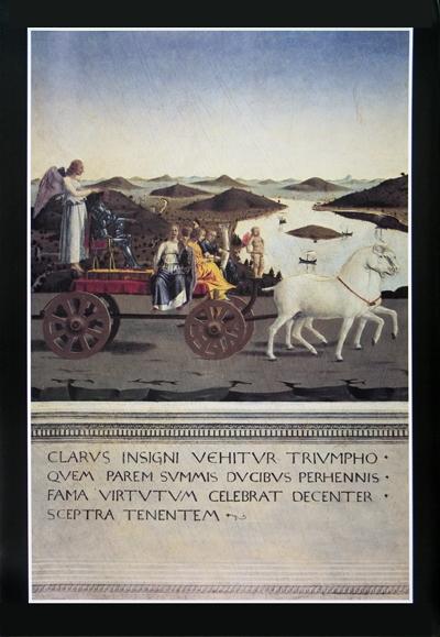 3 Piero Della Francesca Trionfo Di Federigo Da Montefeltro Posters