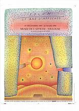 1989 Folon 25 Ans d'Affiches Poster