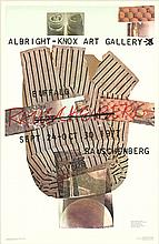 1976 Rauschenberg Albright-Knox Gallery Poster