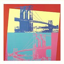 2014 Warhol Brooklyn Bridge Giclee