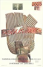 1976 Rauschenberg National Collection of Fine Arts Poster