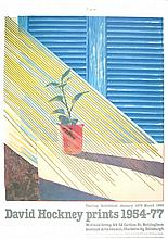 1981 Hockney Sun from the Weather Series Poster