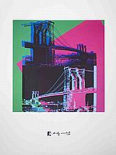 2010 Warhol Brooklyn Bridge Giclee