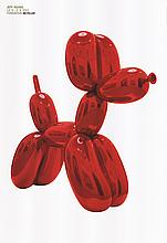 2012 Koons Balloon Dog (Red) Poster