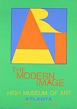 1972 Indiana Atlanta-ART Serigraph