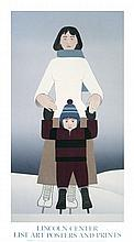 100 Will Barnet 1994 The Skaters Serigraphs