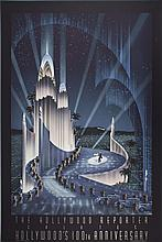 10 Robert Hoppe 1987 The Hollywood Reporter Salutes Hollywood's 100th Anniversary Lithographs