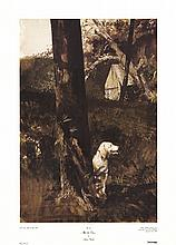1994 Wyeth After the Chase Poster