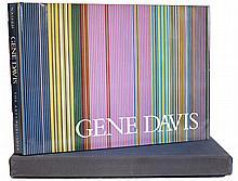 Signed 1982 Gene Davis Book