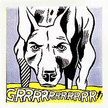 Lichtenstein Grrrrrrrrrrr!! Button