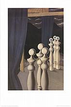 Magritte La Rencontre Poster