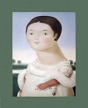 Botero Mlle Riviere Canvas Mounted