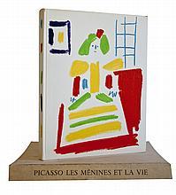 1958 Pablo Picasso Les Menines et La Vie Book