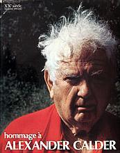 1972 XXe Siecle Hommage a Alexander Calder Mourlot Book