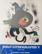 1975 1972-1975. Volume 5, Miro Lithographs V (English) Book