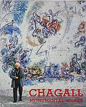 1973 Chagall Monumental Works XXieme Siecle Book