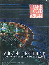 1962 Frank Lloyd Wright Architecture - Man in Possession of his Earth Book