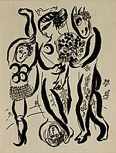 1957 Marc Chagall Das Graphische Werk Book
