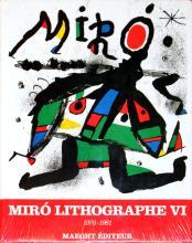 1992 Miro 1976-1981. Volume 6, Lithographs VI (French) Book