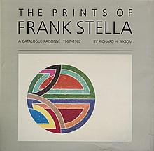 1983 The Prints of Frank Stella 1967-1982 Book