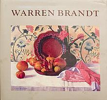 Signed 1988 Warren Brandt by Nicholas Fox Weber Book