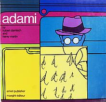 Signed Adami by Hubert Damisch and Henry Martin Book