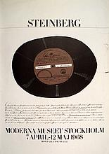 1968 Steinberg Moderna Museet Stockholm Lithograph