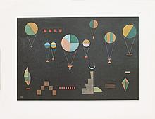 Kandinsky Plat Profond Offset Lithograph