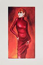 Dix Portrait of the Dancer Anita Berber Poster