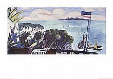 Beckmann River Landscape Poster