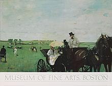 Degas Carriage at the Races Poster