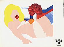 1968 Wesselmann Galerie Thomas Munchen Poster
