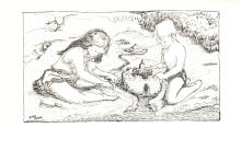 1966 Sum Sand Artists Lithograph