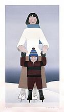 Will Barnet - The Skaters - 1994 - SIGNED