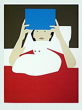 Will Barnet - Woman Reading - 1970 - SIGNED