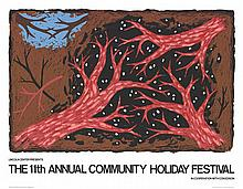 Louisa Chase - Community Holiday Festival - 1981