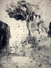 Jean Baptiste Camille Corot - Roman Landscape - 1960