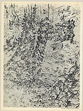 Vincent van Gogh - Lierre Avec Banc de Pierre - 1953