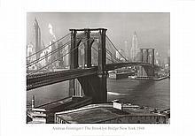 Andreas Feininger - The Brooklyn Bridge as Seen from Brooklyn (1948)