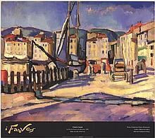Charles Camoin - Le Port de Cassis a la Barriere - 1999